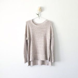 Hollister Oversized Textured Sweater
